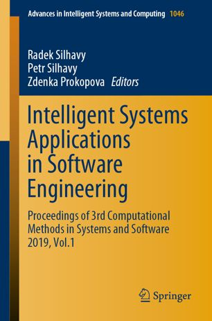 Intelligent Systems Applications in Software Engineering